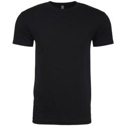 textil Herr T-shirts Next Level NX6210 Svart
