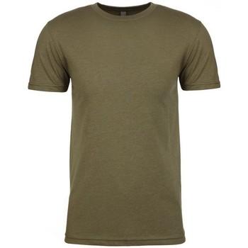 textil Herr T-shirts Next Level NX6210 Militärt grönt