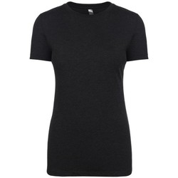 textil Dam T-shirts Next Level NX6710 Vintage svart