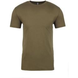 textil T-shirts Next Level NX3600 Militärt grönt