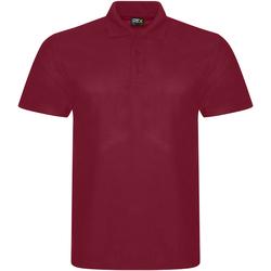 textil Herr Kortärmade pikétröjor Prortx RX101 Bourgogne