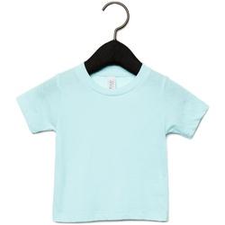 textil Barn T-shirts Canvas CA3413T Isblått triblend