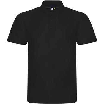 textil Herr Kortärmade pikétröjor Prortx RX101 Svart