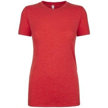 textil Dam T-shirts Next Level NX6710 Vintage röd