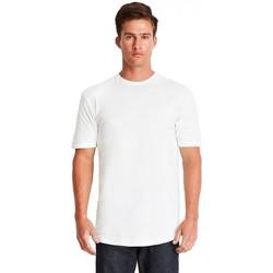 textil Herr T-shirts Next Level NX3602 Vit