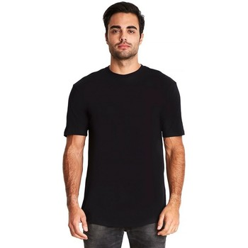 textil Herr T-shirts Next Level NX3602 Svart