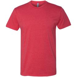 textil Herr T-shirts Next Level NX6210 Röd