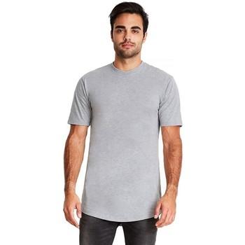 textil Herr T-shirts Next Level NX3602 Grått