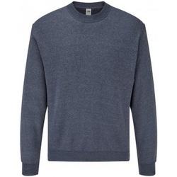 textil Herr Sweatshirts Fruit Of The Loom SS9 Marinblått