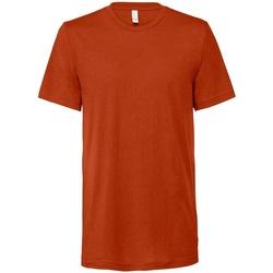 textil T-shirts Bella + Canvas CV3413 Brick Triblend