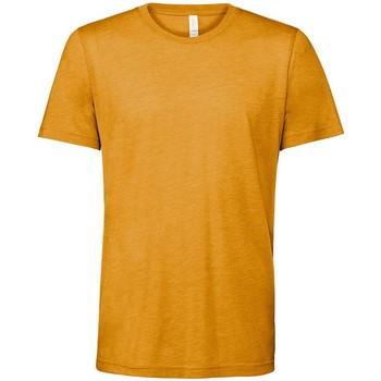 textil T-shirts Bella + Canvas CV3413 Senap Triblend