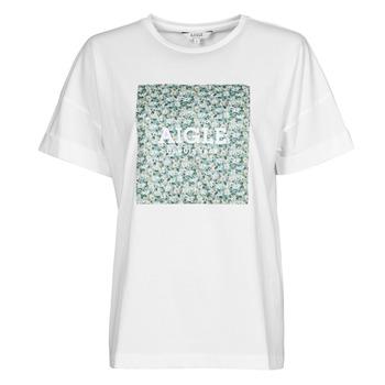 textil Dam T-shirts Aigle RAOPTELIB Vit