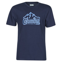 textil Herr T-shirts Columbia M PATH LAKE GRAPHIC TEE Blå