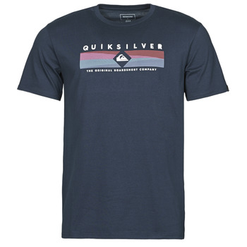 textil Herr T-shirts Quiksilver DISTANT FORTUNE SS Marin