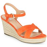 Skor Dam Sandaler Geox D SOLEIL Orange