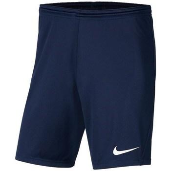 textil Pojkar Shorts / Bermudas Nike JR Park Iii Knit Grenade
