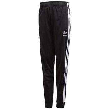 textil Barn Joggingbyxor adidas Originals Sst Trackpant Svarta