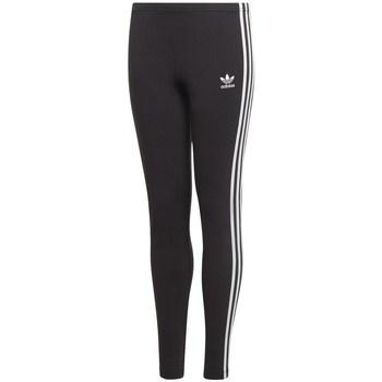 textil Barn Joggingbyxor adidas Originals 3STRIPES Svarta