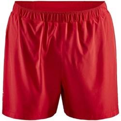 textil Herr Shorts / Bermudas Craft Adv Essence 5 Stretch Röda