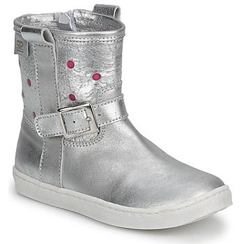 Skor Flickor Boots Pinocchio  Silver / Fuxia