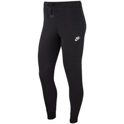 textil Dam Joggingbyxor Nike Essential Svarta
