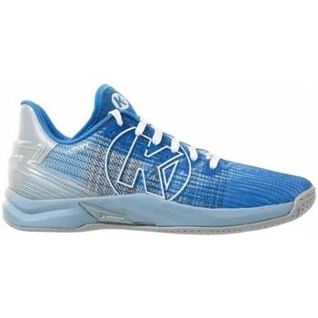 Skor Dam Träningsskor Kempa Chaussures femme  Attack One 2.0 bleu/gris clair chiné