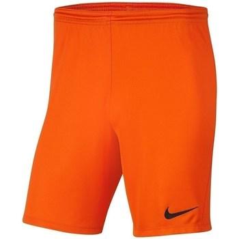 textil Pojkar Shorts / Bermudas Nike Dry Park Iii NB K Orange