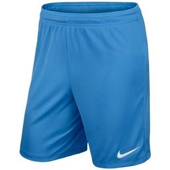 textil Pojkar Shorts / Bermudas Nike Park II Knit Junior Blå