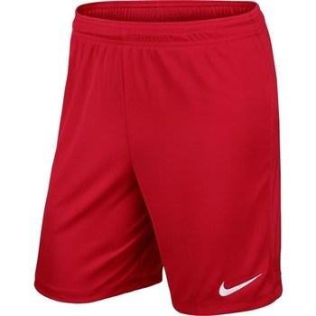 textil Pojkar Shorts / Bermudas Nike Park II Knit Drifit Junior Röda