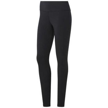textil Dam Leggings Reebok Sport TE Cotton Legging Svarta