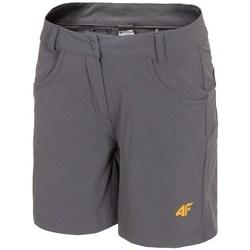 textil Dam Shorts / Bermudas 4F SKDF060 Gråa