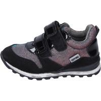 Skor Flickor Sneakers Enrico Coveri sneakers tessuto camoscio Nero