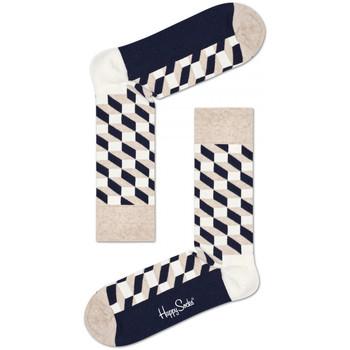 Accessoarer Herr Strumpor Happy Socks Filled optic sock Flerfärgad