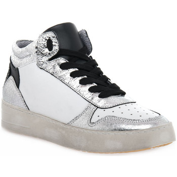 Skor Dam Höga sneakers At Go GO DUCK ARGENTO Grigio