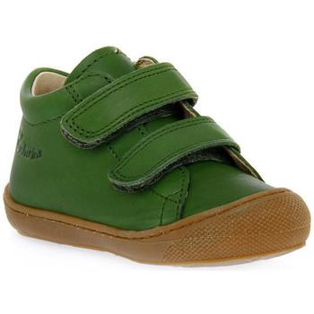 Skor Pojkar Sneakers Naturino F06 COCOON VL NAPPA KAKY Verde