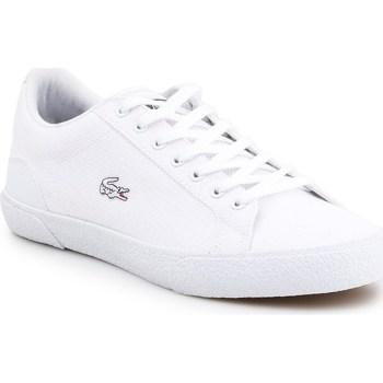 Skor Herr Sneakers Lacoste Lerond Vit