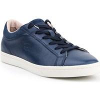 Skor Dam Sneakers Lacoste Straightset Vit, Grenade
