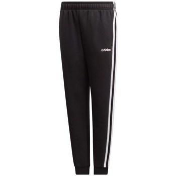textil Barn Joggingbyxor adidas Originals JR Essentials 3S Svarta