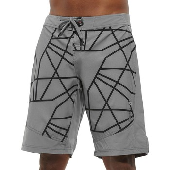 textil Herr Shorts / Bermudas Reebok Sport Les Mills Board Short Gråa