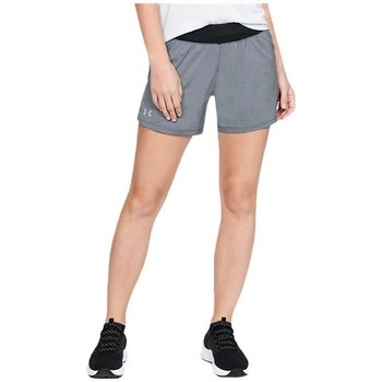 textil Dam Långshorts Under Armour Launch SW GO Long Short Gråa
