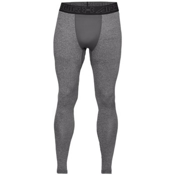 textil Herr Leggings Under Armour Coldgear Compression Grafit