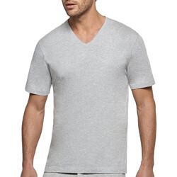 textil Herr T-shirts Impetus 1360002 507 Grå
