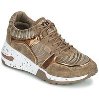 Skor Dam Sneakers Xti CONGOLADY Guldfärgad