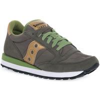 Skor Dam Sneakers Saucony JAZZ OLIVE GOLD Verde