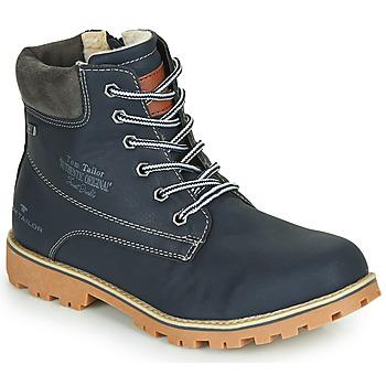 Skor Pojkar Boots Tom Tailor 70502-NAVY Marin