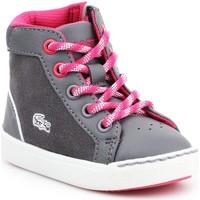 Skor Barn Höga sneakers Lacoste Explorateur 7-32CAI1001248 grey