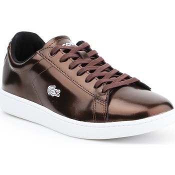 Skor Dam Sneakers Lacoste Carnaby Evo 7-30SPW4110DB2 brown
