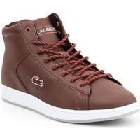 Skor Dam Höga sneakers Lacoste Carnaby EVO 7-30SPW411377T brown