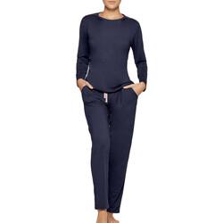 textil Dam Pyjamas/nattlinne Impetus Travel Woman 8500F84 F86 Blå