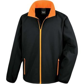 textil Herr Sweatjackets Result Veste  Softshell Printable noir/noir